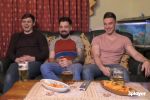 A bunch of lads from Louth joined Gogglebox Ireland last night and had everyone in stitches