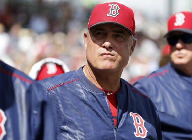 Red Sox's manager, John Farrell said knew players were trying to steal signs, but was unaware of the devices used.