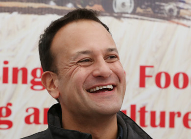 An Taoiseach Leo Varadkar at the National Ploughing Championships.