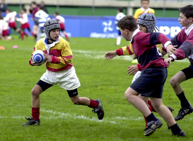 File photo: Children playing rugby