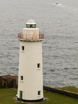 Bere Island lighthouse.