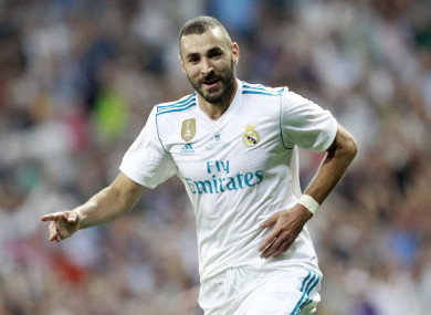 Benzema is one of the world's best centre forwards.
