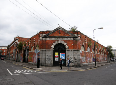 The Iveagh Markets on Francis Street, Dublin.