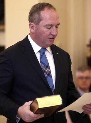 Australia's Deputy Prime Minister Barnaby Joyce.
