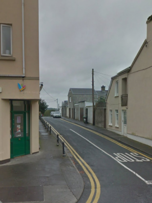 The man was found on St Bridget's Place