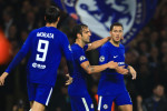 Hazard rescues Chelsea after Dzeko stunned the Bridge in six-goal thriller