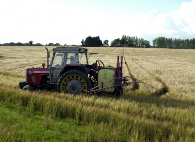 File photo of a tractor.