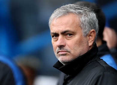 Jose Mourinho admits his side weren't good enough today.