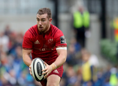 Hanrahan played for Munster 'A' last weekend.