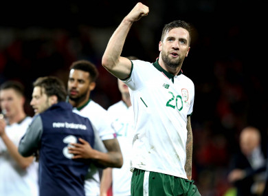 Duffy has become a key player for Ireland.