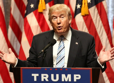 President Donald Trump told the media earlier this week that Ireland is to reduce its corporation tax rate to 8%.