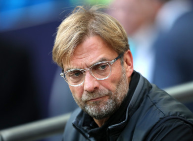 Jurgen Klopp is under pressure following Liverpool's 4-1 loss to Tottenham.