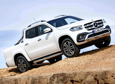 4cb3933cf4 Truck yeah! The X-Class is the new pickup from Mercedes · TheJournal.ie