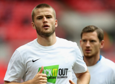Eric Dier was targeted by Man United during the summer.