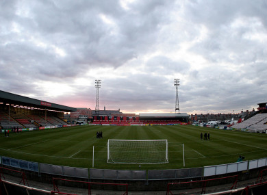 Dalymount Park was the location for O'Connor's phenomenal hat-trick.