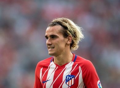 Antoine Griezmann joined Atletico Madrid in 2014.