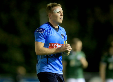 Ryan played his last football with UCD.