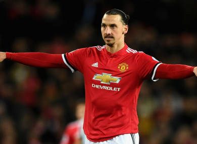 Zlatan Ibrahimovic returned from injury in Manchester United's win over Newcastle United