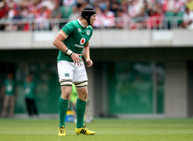 Treadwell won his first two caps for Ireland on the summer tour to Japan.