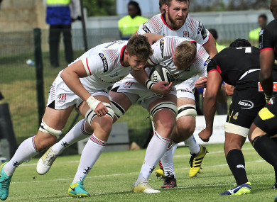 Kieran Treadwell and Matty Rea: Ulster left Port Elizabeth with bonus point.