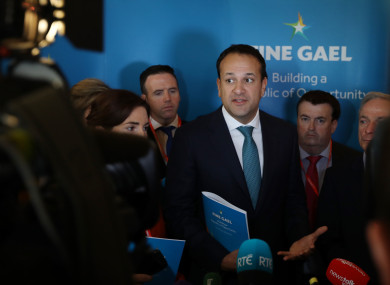 TheJournal.ie asked the Taoiseach about Ireland's homeless figures at the second day of the Fine Gael conference.