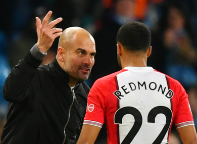 'I want to make it absolutely clear that Guardiola, did not say what The Sun is falsely claiming in this story.'