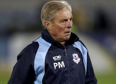 Pete Mahon is leaving Drogheda United.