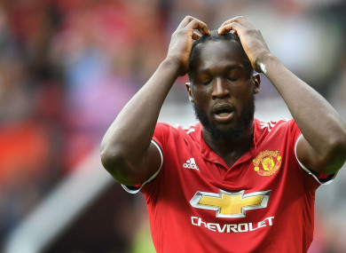 Romelu Lukaku has found goals hard to come by of late.