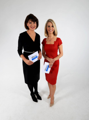 The new presenters of the Six-One: Keelin Shanley and Caitriona Perry.