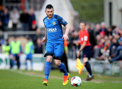 Ryan Brennan joins Pat's from Bray Wanderers.