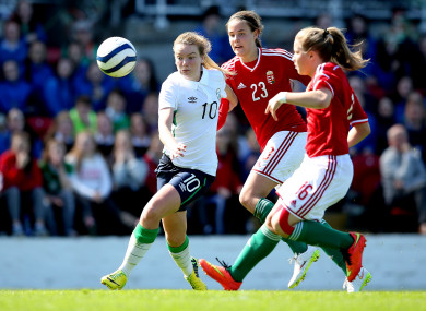 Saoirse Noonan has been a regular for the Irish side at underage level and has also appeared for the senior team.