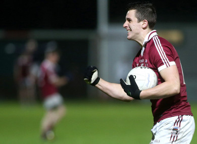 Shane McGuigan scored three points on Saturday night at Healy Park.