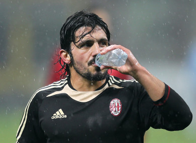 Gattuso will take charge immediately.