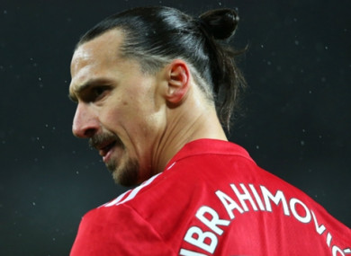 Zlatan Ibrahimovic recently returned to first-team action after being out with a long-term injury.