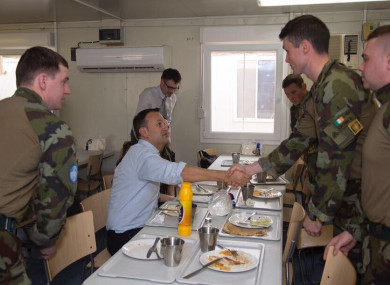 Leo Varadkar says the highlight of his trip to Lebanon was spending time with the Irish UNIFIL peacekeeping troops, and meeting local families.