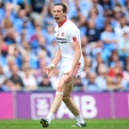Cavanagh perfected his midfielder-sweeper role for the Red Hand as they won provincial honours, and then led Moy to the Ulster club crown.<span class=