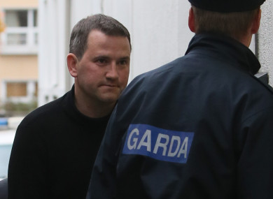 File photo of Dwyer arriving at court in 2013.
