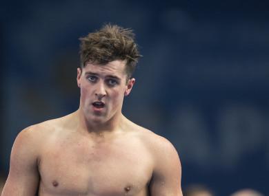 Swimmer Jordan Sloan.