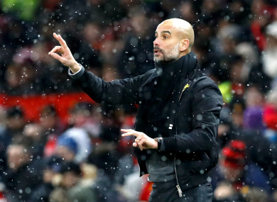 Pep orchestrates the action.