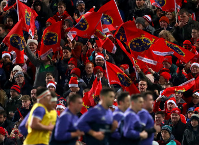 Munster will be hoping to avenge their 23-17 derby defeat to Leinster earlier in the season.