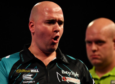 Englishman Rob Cross
