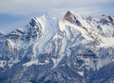 Swiss Alps (file image)