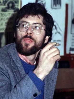 File photo of Gerry Adams.