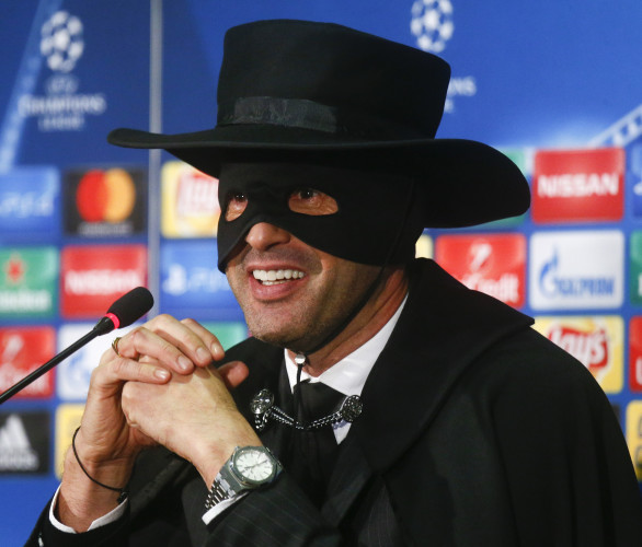 Shakhtar boss keeps promise and dresses as Zorro after side defy odds to reach knockout stage