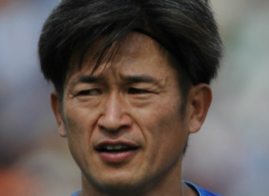 Kazuyoshi Miura, who will turn 51 next month, renewed his contract with Yokohama FC on Thursday.