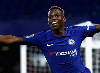 Charly Musonda (file pic).