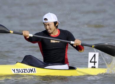 Japan's Yasuhiro Suzuki (file pic).