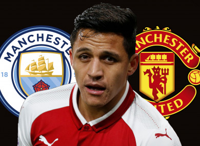 Sanchez looks set to leave Arsenal.