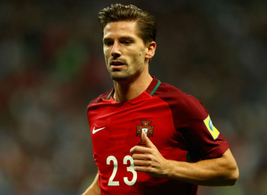 Adrien Silva has won 20 caps for Portugal.