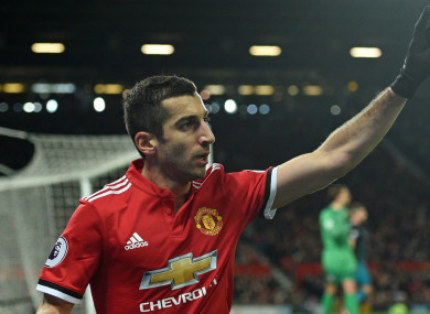 Henrikh  Mkhitaryan has been linked with a move away from Man United.